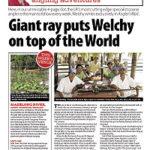 anglers mail world record stingray