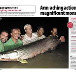arapaima fishing thailand