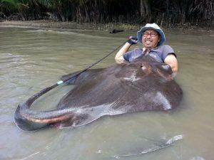 monster fishing mae klong river