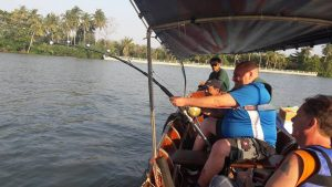 Maeklong River Stingray fishing trip