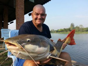 Andy from the UK started his Thailand fishing holiday with a visit to the highly prolific IT Lake Monsters in Ratchaburi.