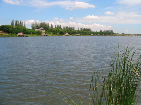 Fishing World Lake in Minburi.
