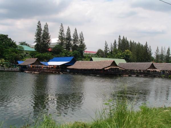 Fishing World Lake in Minburi.