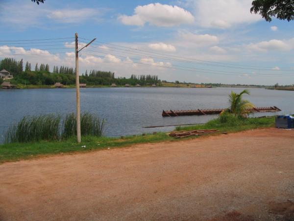 Fishing World Lake in Minburi near Bangkok.
