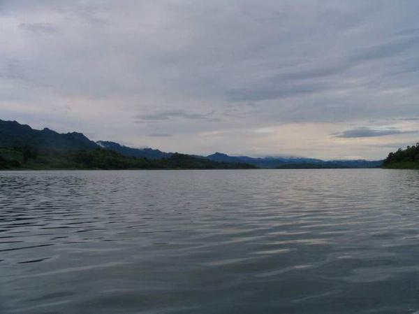 The magnificent Khao Laem Dam in Kanchanaburi.